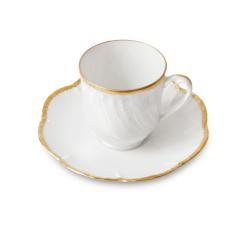 Tasse à café et soucoupe