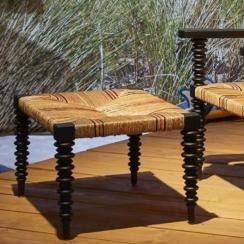 Cottage footstool